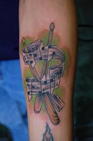 band drum tattoo design in 2017 real photo pictures images and