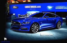 ford 2015 mustang release date two more 2015 mustang rendering us eager for more stangtv