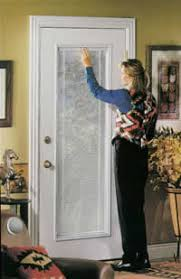 French Doors With Blinds In Glass Blinds For Back Door Great Alternative To Blinds On A Front Door