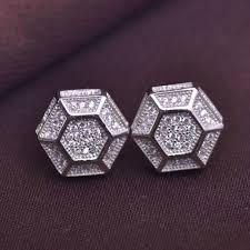back earrings for men aliexpress buy zircon earrings men earring with back