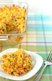 broccoli cheddar u0027n ham hashbrown casserole its yummi bites of