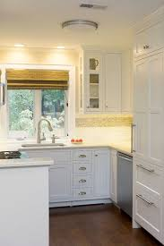 Kitchen Cabinet Pull Placement Cabinet Knob Placement For A Traditional Kitchen With A Fridge