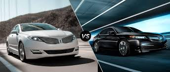 lexus vs acura tlx 2016 lincoln mkz vs 2016 acura tlx