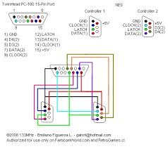 nes controller wiring diagram wiring diagram and schematic