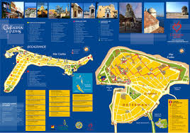 San Diego Attractions Map by Cartagena Millennium Panama Canal