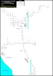 Metro Rail Map Los Angeles by World Nycsubway Org Lamta Track Map