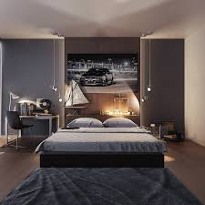 fascinating mens bedroom ideas including trendy guy modern