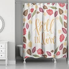 i fall shower curtain kirklands