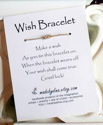 bridal shower wish 50 best bridal shower favor ideas wish bracelet by made by dina