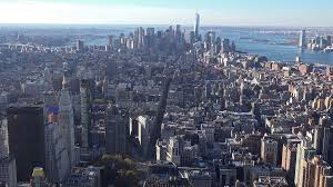 New York Scenery images Panoramic and aerial view of manhattan buildings in new york city