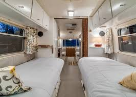 How To Decorate A Mobile Home Living Room Take A Virtual Trip Inside An Updated 1970s Aluminum Trailer