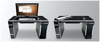 bureau informatique noir bureau informatique noir bureau informatique design on decoration d