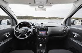 renault sandero interior 2017 2017 dacia dokker and lodgy facelift priced autoevolution