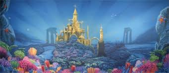 Castle Backdrop Little Mermaid Backdrops For Rent Music Theatre International