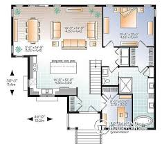 4 bedroom open floor plans house plan w3133 v4 detail from drummondhouseplans com