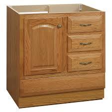 Bathroom Vanities Oak Shop Project Source Oak Bathroom Vanity Common 30 In X 21 In