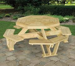 Build Your Own Octagon Picnic Table by Picnic Tables U2022 Shed Happens
