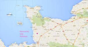 Normandy Map More Information Normandy Gite Holidays