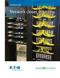 Closet Solutions Eaton Network Closet Solutions Powerware Pdf Catalogue