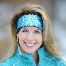 sequin headbands choucas zip sequin headband for winter sports
