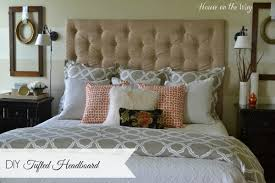 How To Make Headboard How To Make A Diy Tufted Headboard For 150 Hometalk