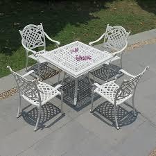 Patio Furniture Cast Aluminum Outdoor Furniture Wrought Iron Furniture Cast Aluminum Outdoor