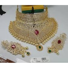 necklace set image images Cz stone bridal necklace set online m2735p7460 jpg