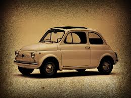 fiat 500 old style by locoarts92 on deviantart