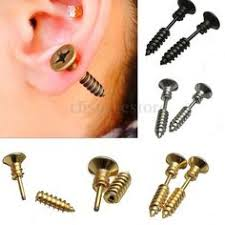 types of earrings for guys vinyl record ear studs surgical steel posts retro earring studs