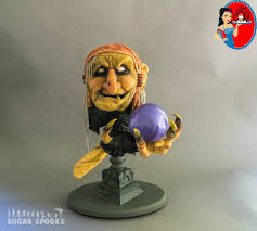 Halloween Scary Cakes Amria The Fortune Teller Sugar Spooks