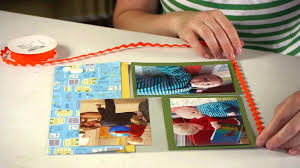 how to make a scrapbook page preschool crafts u0026 more youtube
