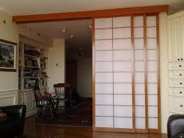 Sliding Door Room Divider Room Divider With Sliding Door Contemporary Interesting Large