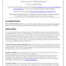 Job Description Of A Cna For Resume by Nursing Student Resume Template Sample Resume Nursing Student No