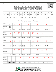 printable fun math worksheets worksheets