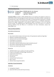 hr executive resume sample in india sample resume format for hr executive sample resume hr executive