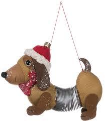 amazon com sullivans slinky dog hanging ornament home u0026 kitchen