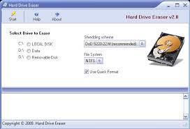 format hard disk tool format hard disk with hard drive eraser free software flash drive