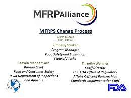bureau change 13 mfrps change process march 13 30 9 15 am steven mandernach