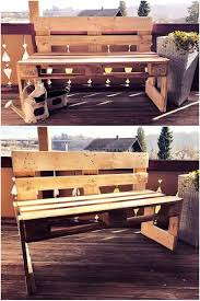 Plans For Wood Outdoor Table by 20 Amazing Plans For Wood Pallets Repurposing Wood Pallet Furniture