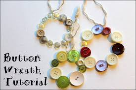 button wreath ornament tutorial emerging creatively jewelry