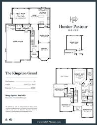 grand floor plans hunter pasteur homes affordable and luxurious community homes in