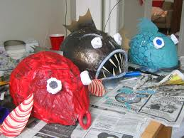 paper mache fish mask how to make a fish mask google search