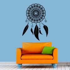 Amazon Com Dandelion Wall Decals by Wall Decals Dream Catcher Decal Dreamcatcher Feathers Hindu Birds