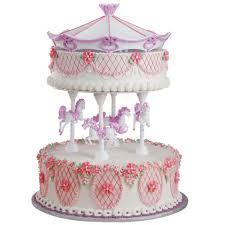 carousel cake topper princess merry go cake wilton
