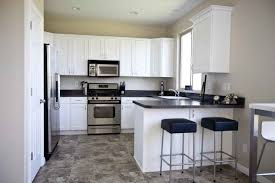tiled kitchen floors ideas black and white kitchen floor ideas kitchen with black floor tiles