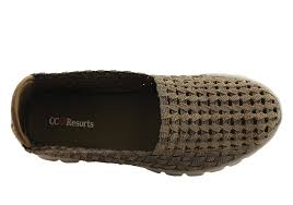 cc resorts smarty womens woven comfortable slip on casual shoes