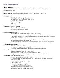 Sample Resume Of Nursing Assistant Nursing Graduate Resume Template Resume Peppapp