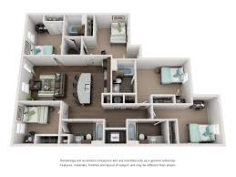 4 Unit Apartment Building Plans Floor Plans For University Of Tennessee Students The Knox