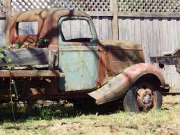 rusty car photography before the bulldozer and the wrecking ball u2014 photography by