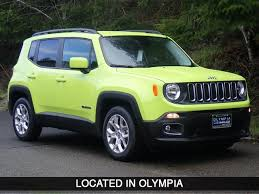 new jeep renegade green new 2017 jeep renegade latitude sport utility in olympia hpg60718